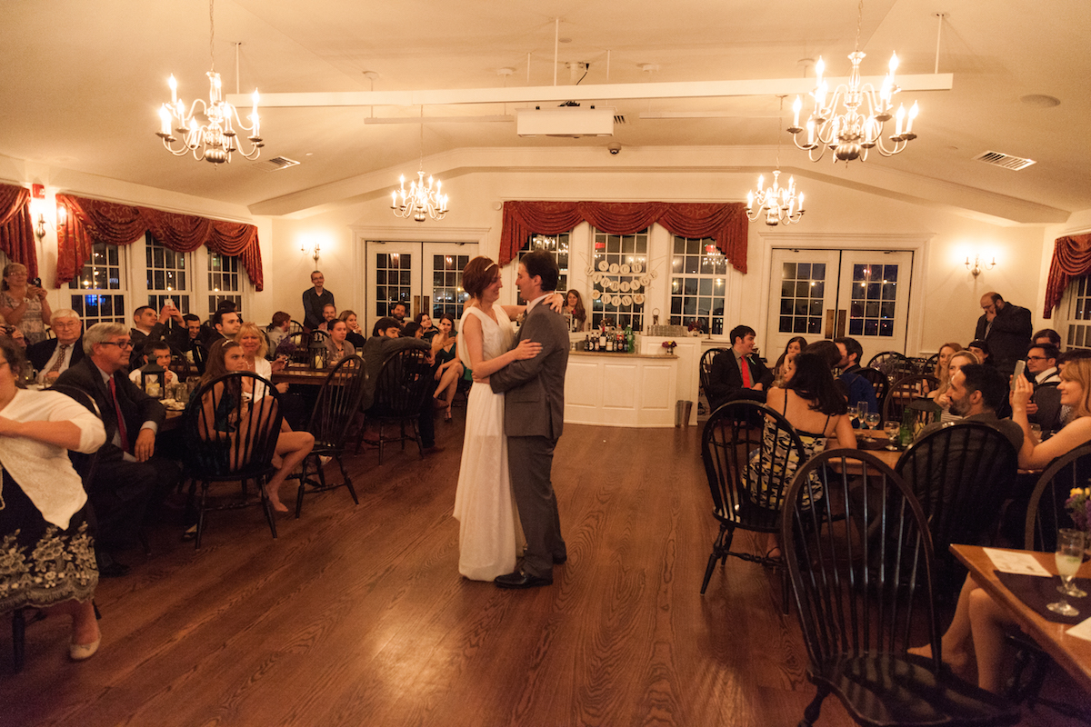Boston Tea Party Ships and Museum wedding