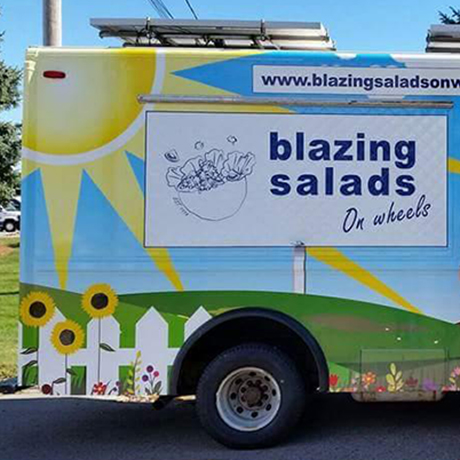 Blazing Salads on Wheels