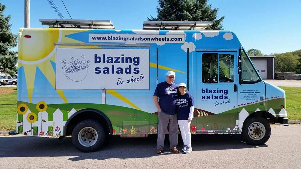 Blazing Salads on Wheels