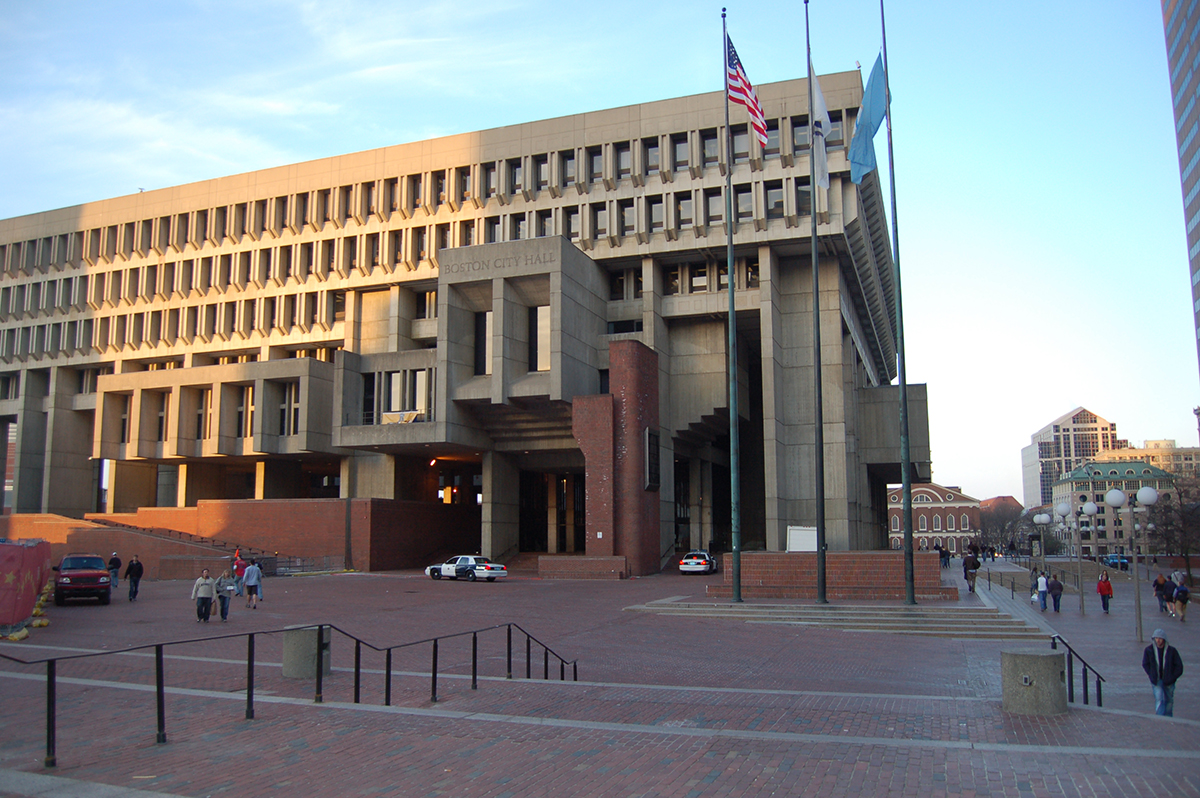 Boston City Hall by Selvia on Flickr/Creative Commons