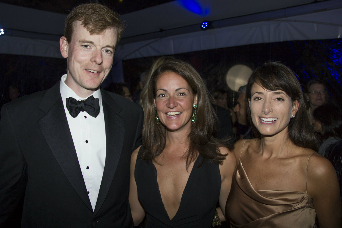 Chris and Alexis Egan, and Elizabeth Georgantas