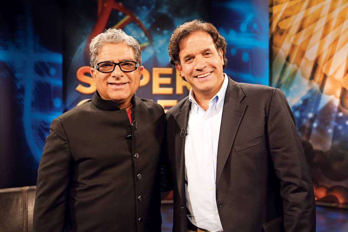 Deepak Chopra and Rudy Tanzi