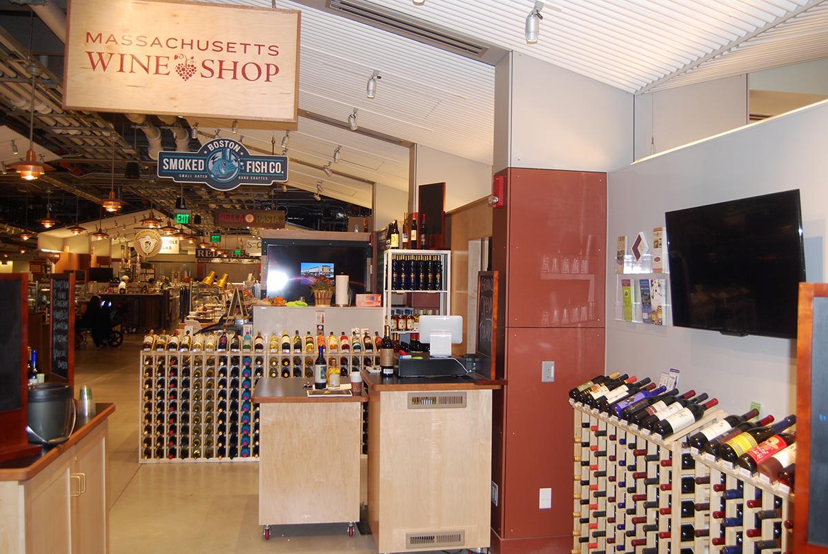 Massachusetts Wine Shop at the Boston Public Market