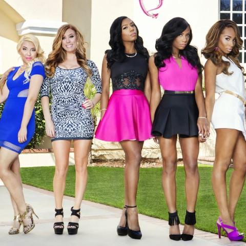 "BAD GIRLS CLUB -- Season: 14 -- Pictured: (l-r) Jasmine Carter, Christina ""Tina"" Aviles, Lauren Lewis, Shannon Clermont, Shannade Clermont, Jelaminah Lanier, Kat Florek -- (Photo by: Tim Brown/Oxygen)"