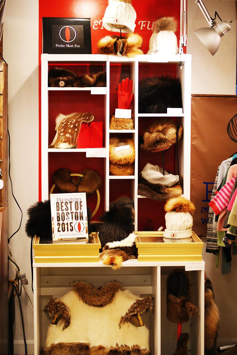 Best of Boston's Petit Mort Fur stall space.