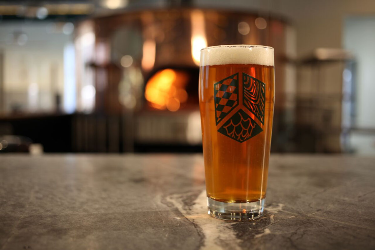 A pint of one of Jack's Abby's lagers. Photo by MediaBoss TV, Provided