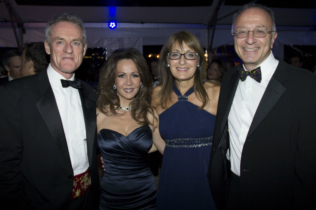 From left, Michael and Evelyn Tracey, Jeryl and Stephen Oritaglio (cofounders of the Esplanade Association)