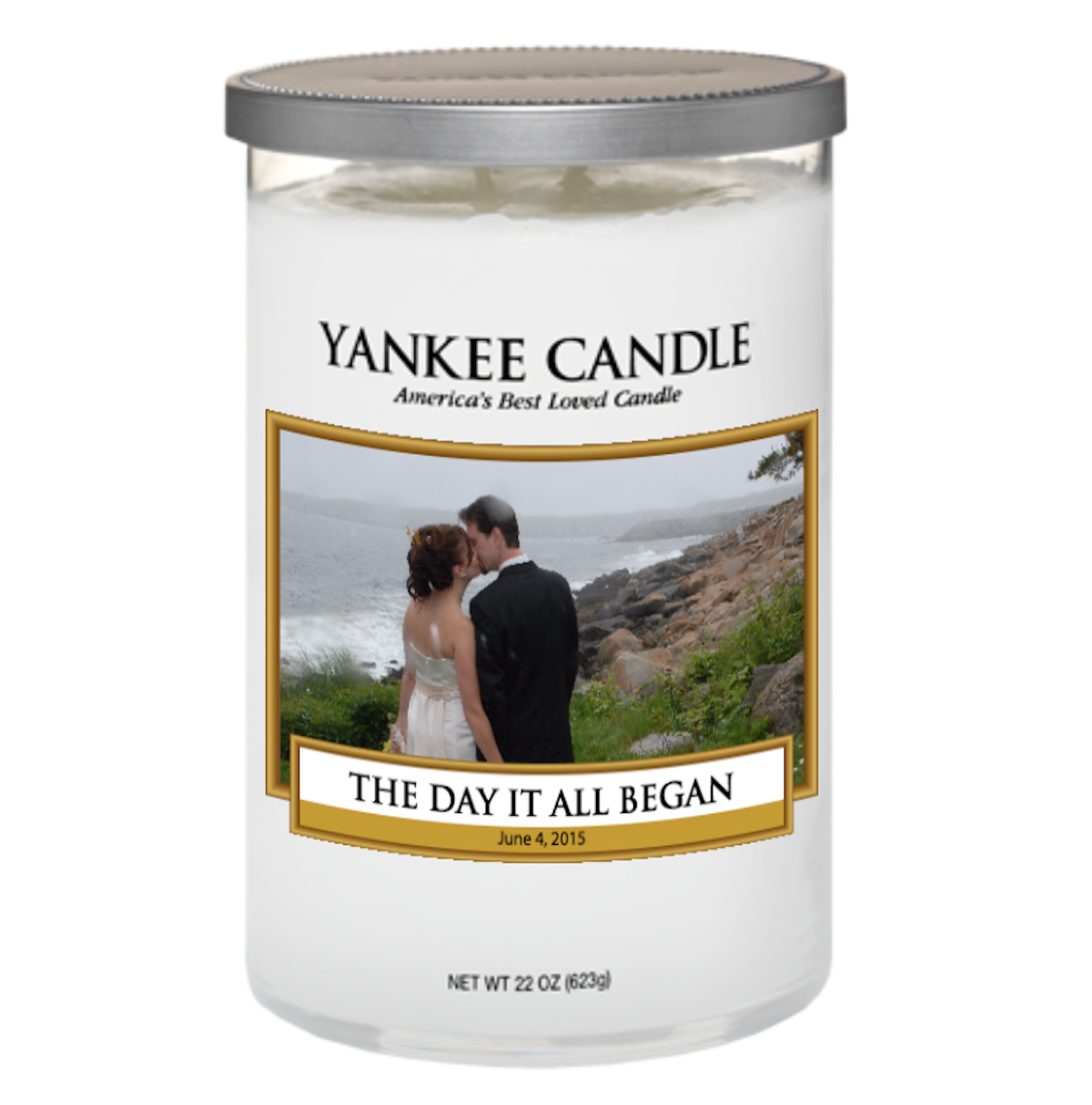 Yankee Candle Wedding Favors Personalized Mini Bridal