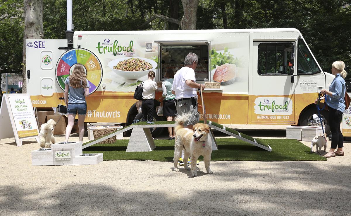 wellness pet food truck boston