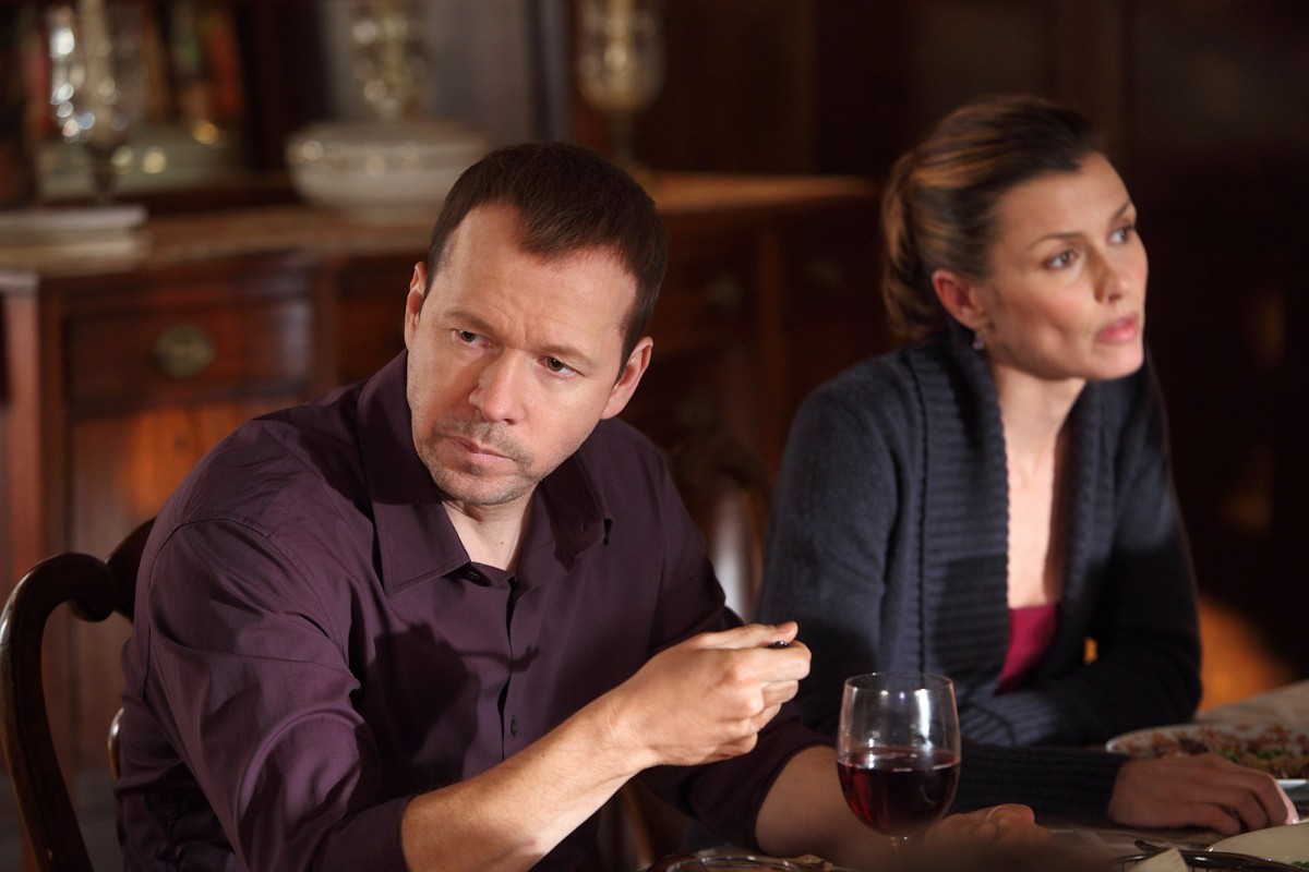 """""""All That Glitters"""" -- A tourist is shot outside a hip Lower East Side restaurant, and Danny Reagan (Donnie Wahlberg) works to solve it with Frank Reagan's help, on BLUE BLOODS, Friday, April 29 (10:00-11:00 PM, ET/PT) on the CBS Television Network. Bridget Moynahan Erin Reagan-Boyle. Photo: Eric Liebowitz/CBS©2011 CBS BROADCASTING INC. ALL RIGHTS RESERVED"""