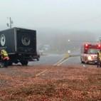 Cranberry truck crash