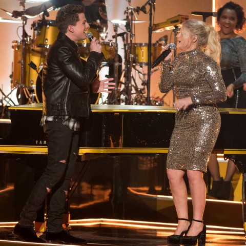 "THE 2015 AMERICAN MUSIC AWARDS(r) - The ""2015 American Music Awards,"" which will broadcast live from the Microsoft Theater in Los Angeles on Sunday, November 22 at 8:00pm ET on ABC. (Image Group LA/ABC) CHARLIE PUTH, MEGHAN TRAINOR"