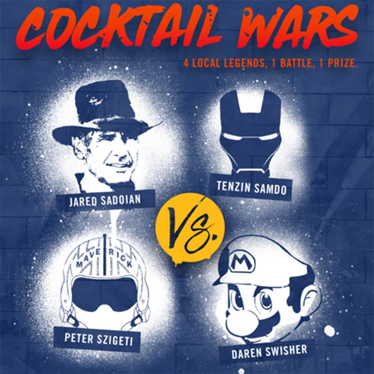 Cocktail Wars 2015 flyer