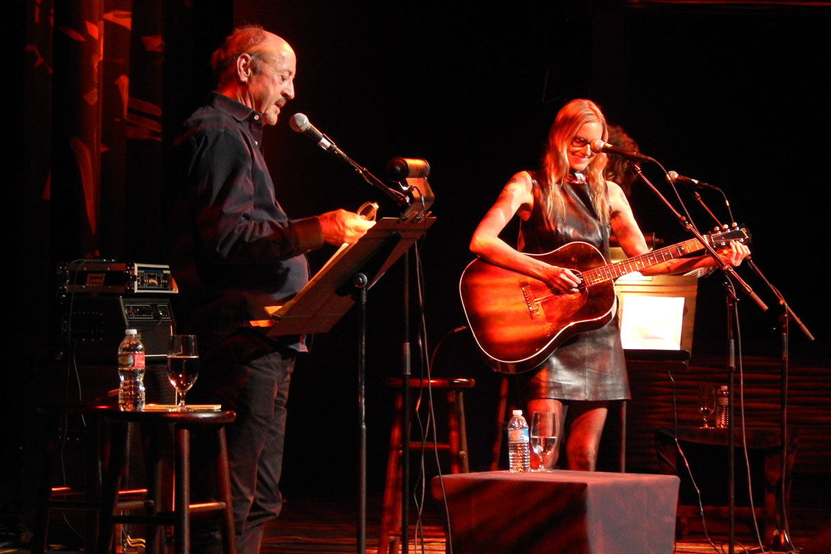 Billy Collins and Aimee Mann