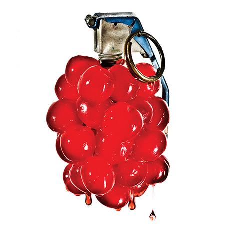 Cherry bomb square