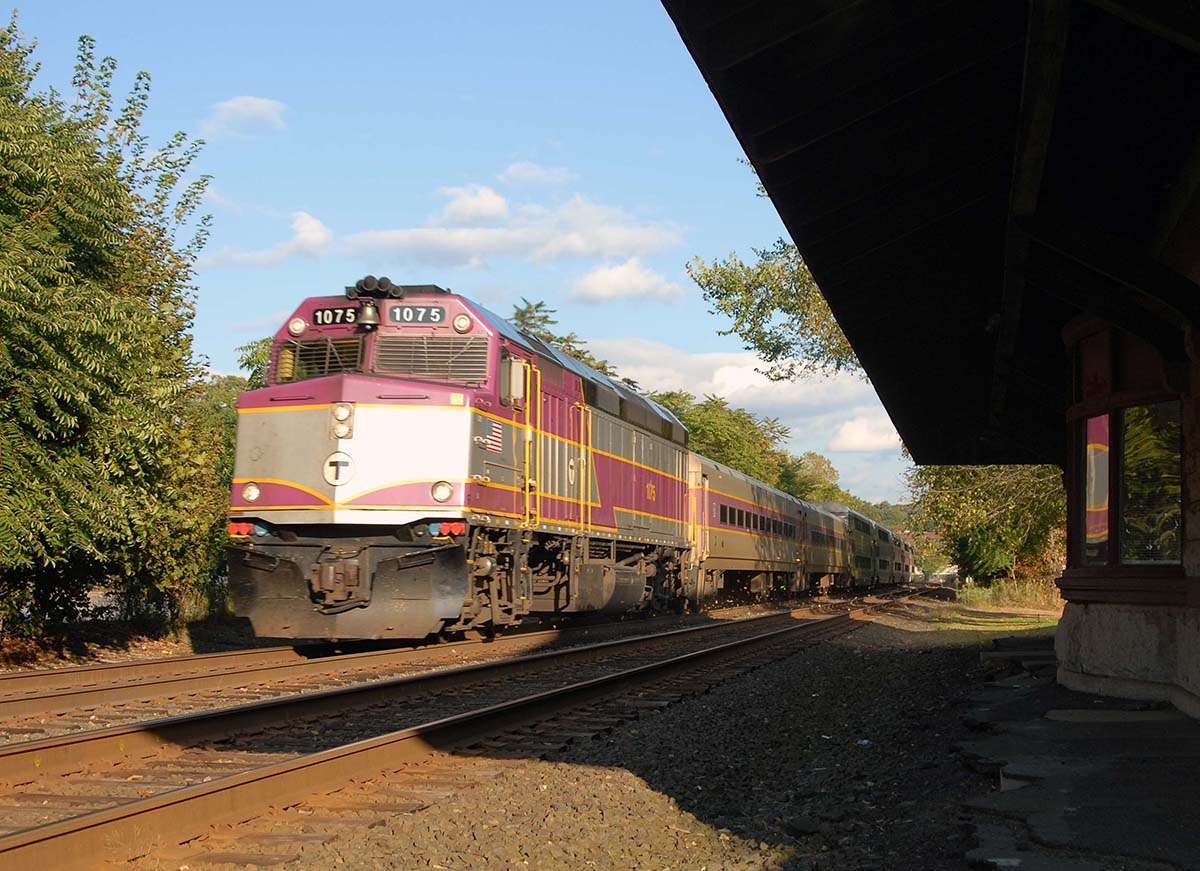 MBTA Commuter Rail Ashland Station via Massachusetts Office of Tourism.
