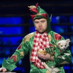 AMERICA'S GOT TALENT -- Episode 1008 -- Pictured: Piff the Magic Dragon -- (Photo by: Eric Liebowitz/NBC)