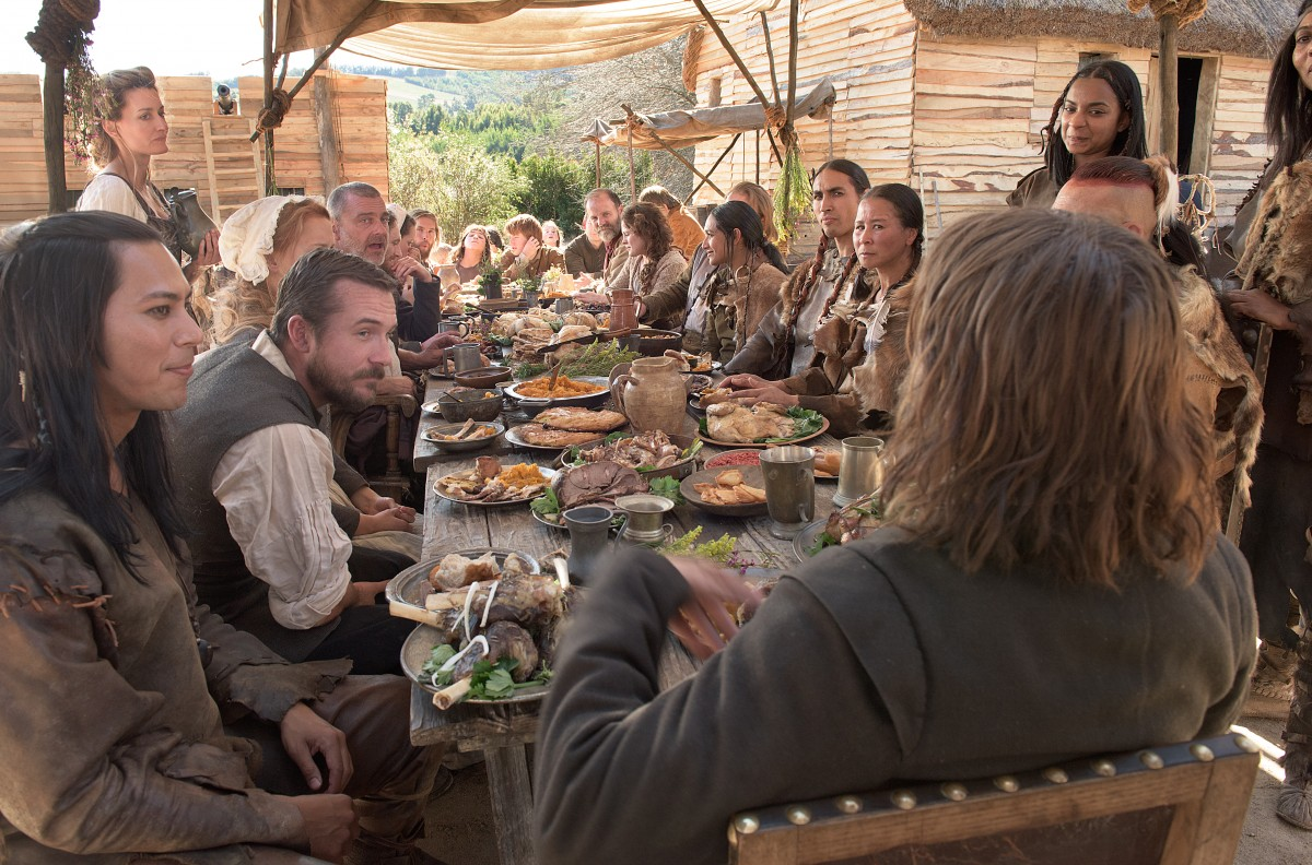 """National Geographic Channel's two-night movie event """"Saints & Strangers,"""" premiering Nov. 22-23, 9/8c.(photo credit: National Geographic Channels/David Bloomer)"""