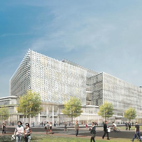 Harvard takes first official step on lower allston expansion - Behnisch architekten boston ...