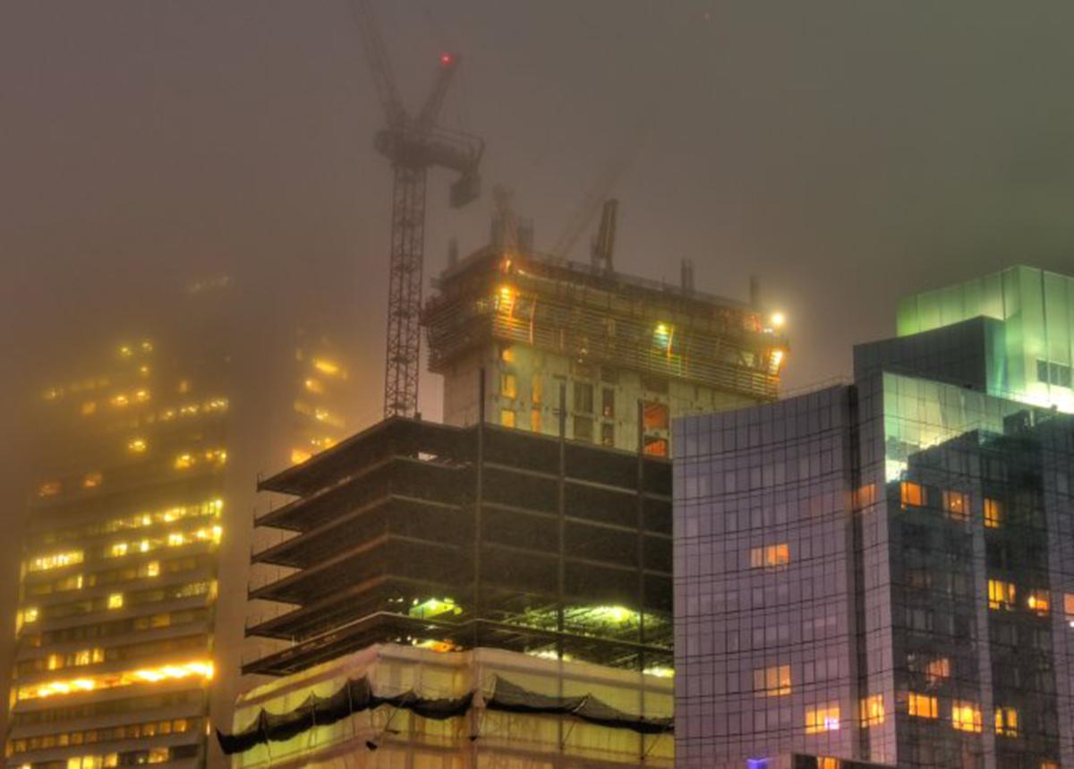 Building the new Boston skyline by B K via Flickr/Creative Commons