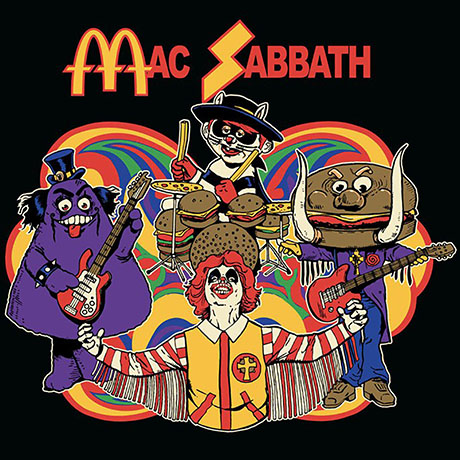 Mac Sabbath album art