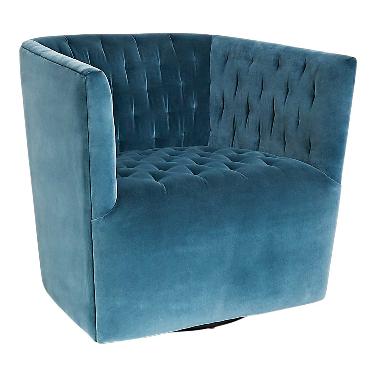 Vertigo-cotton-velvet-club-chair
