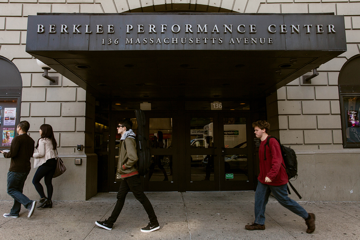 berklee performance center anniversary events
