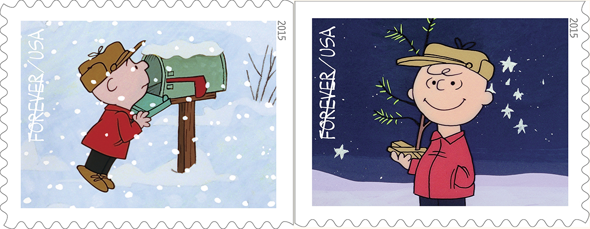 New charlie brown christmas stamps to be unveiled at boston children