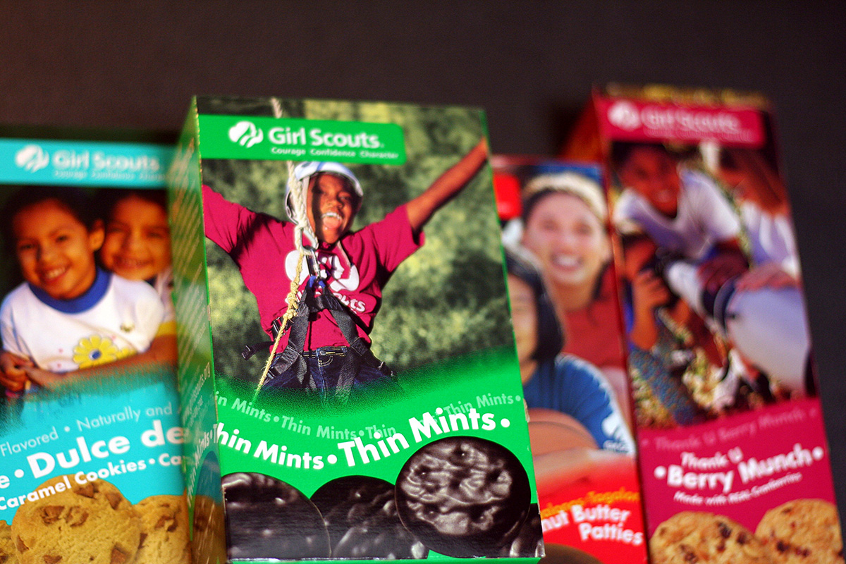 girl scout cookie prices