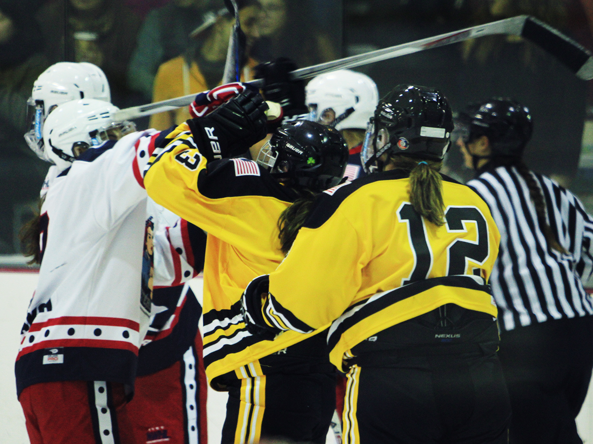 Photo courtesy of National Women's Hockey League