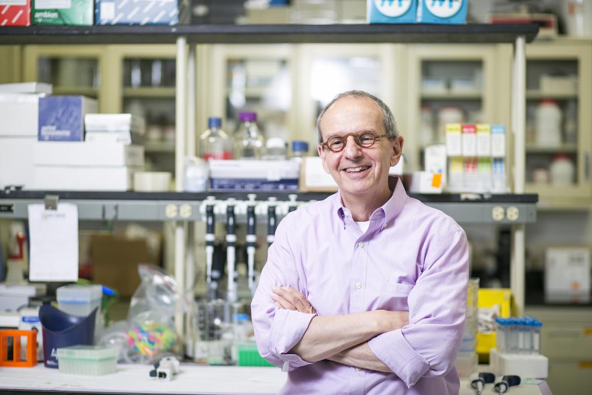 Photo of Dr. Dennis Steindler provided to Boston Magazine.