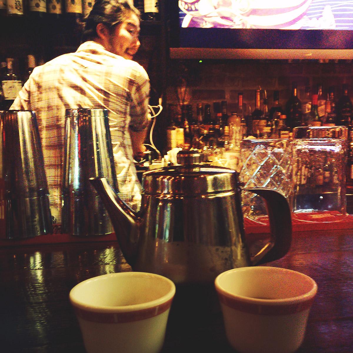 Cold Tea for 2 at Shojo