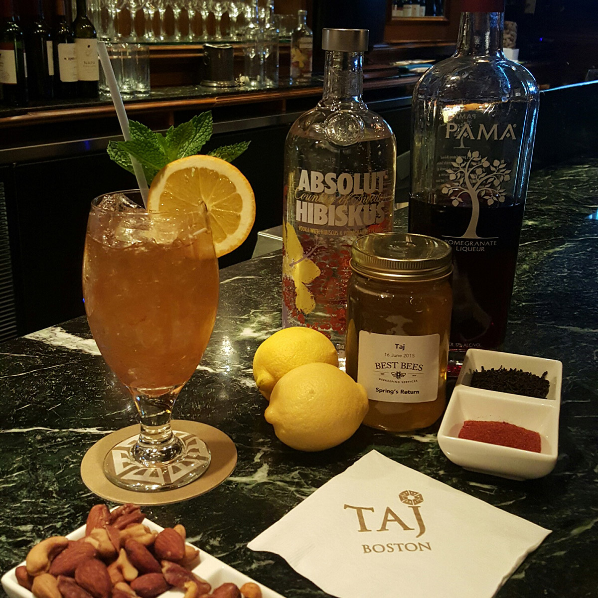 Churchill's Tea at Taj Boston