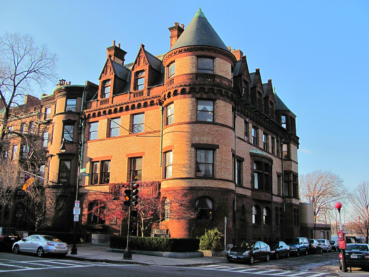 The Church's former headquarters on Beacon Street. Photo by Patrick Mannion on Flickr/Creative Commons