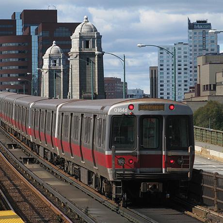 MBTA Red Line sq