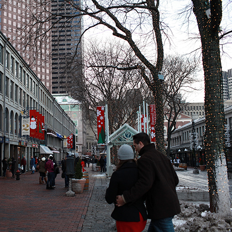 Faneuil Hall shopping sq
