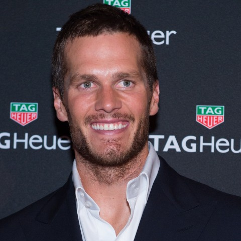 Football player Tom Brady is seen at a TAG Heuer watch launch and brand ambassador announcement event at Spring Studios on Tuesday, Oct. 13, 2015, in New York. (Photo by Scott Roth/Invision/AP)