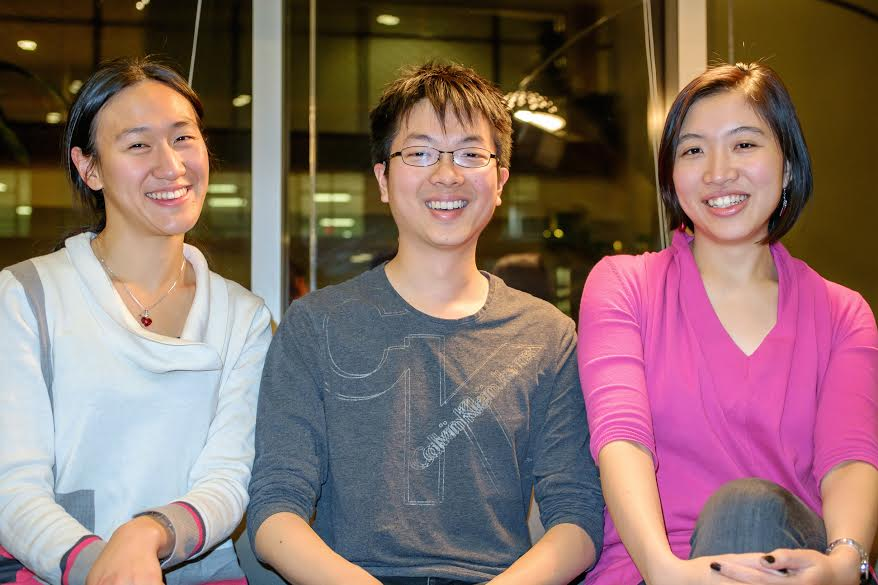 Alina Rwei, Chris Lai, and Sasha Huang