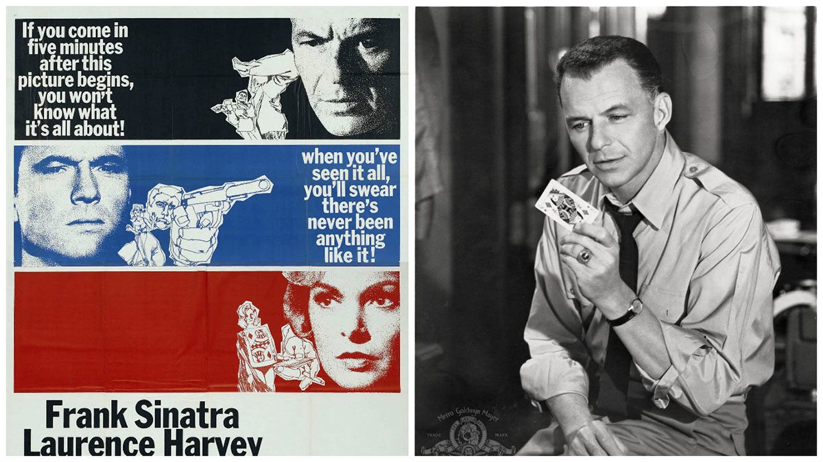 Frank Sinatra in The Manchurian Candidate