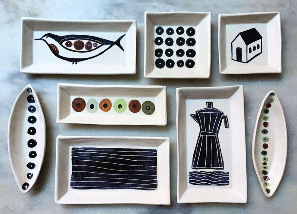Ceramics by Gabrielle Schaffner