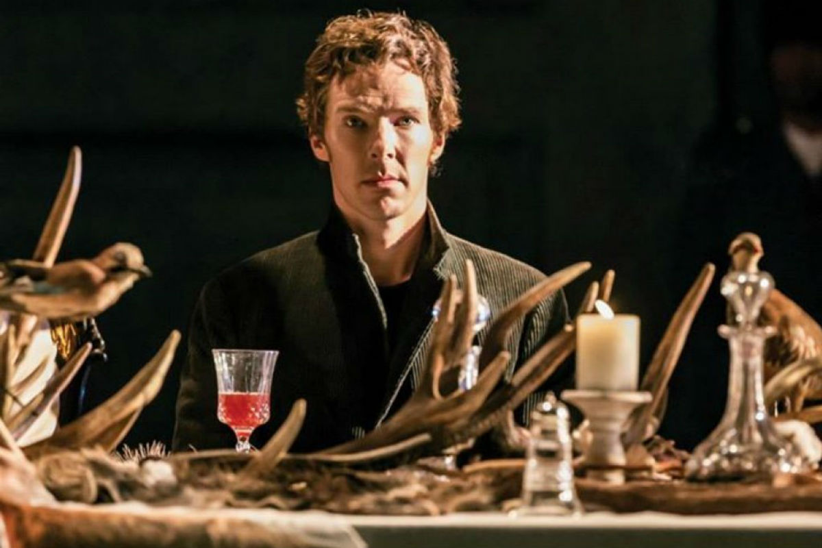 Benedict Cumberbatch in Hamlet / Photo by JohanPersson