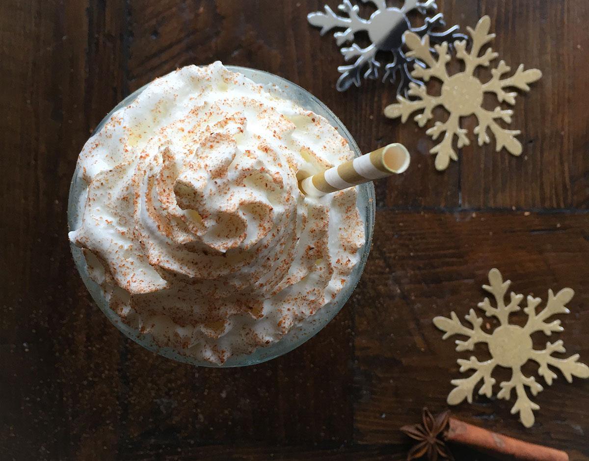 Eggnog Milkshake at Rosebud. / Photo provided
