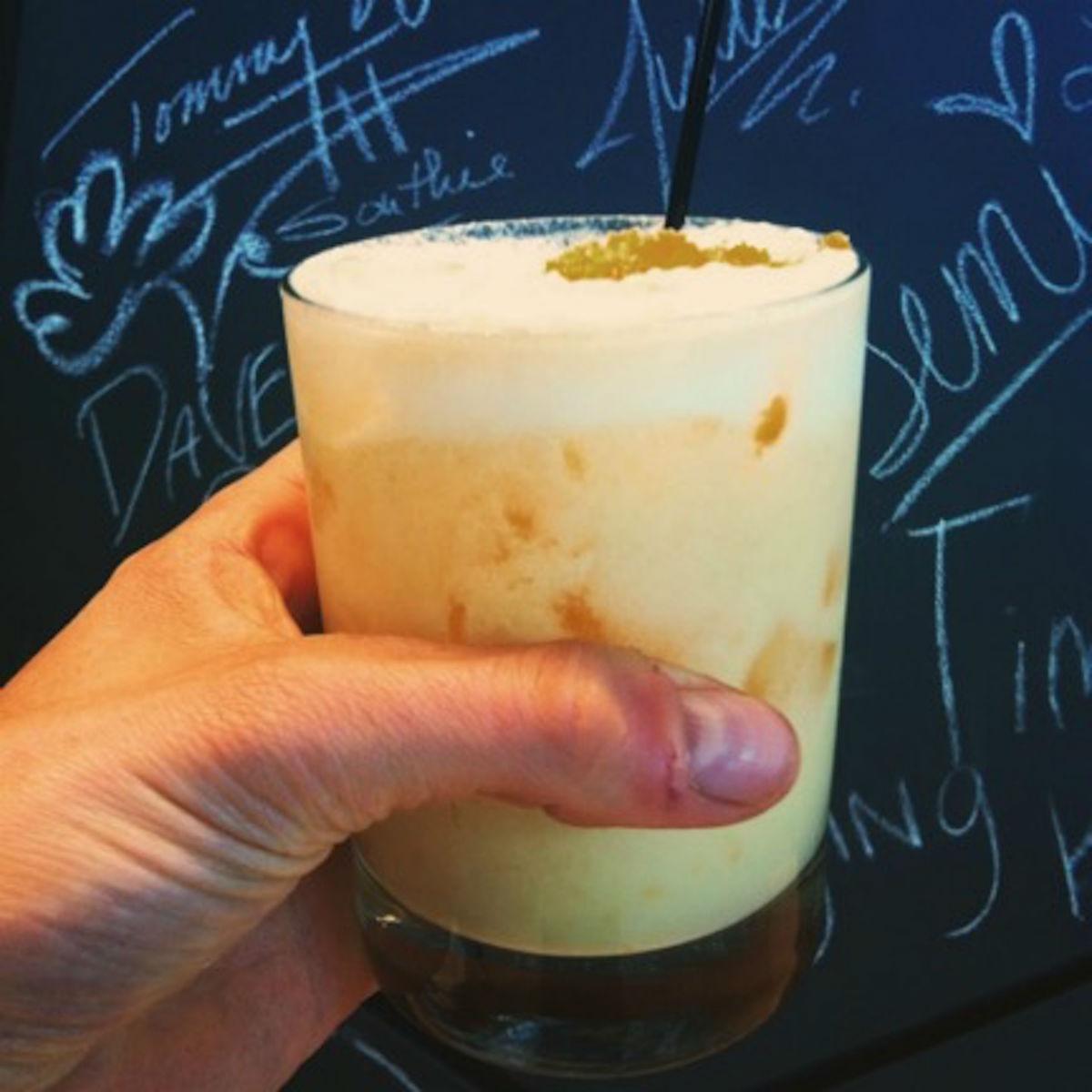 Orange Creamsicle at Cafe ArtScience