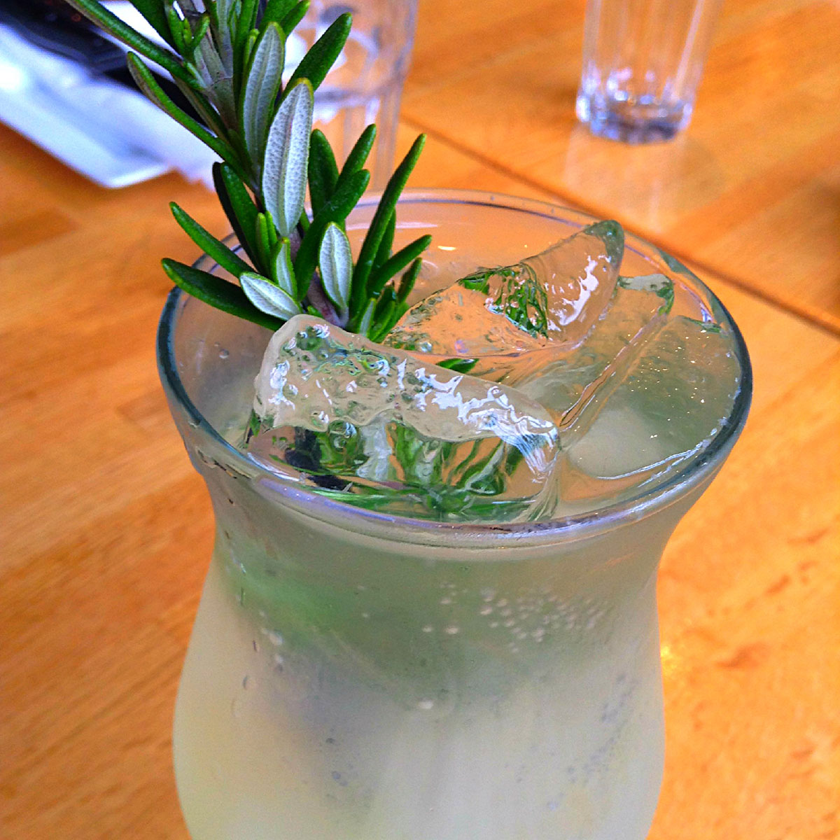 Rosemary Yuzu Limeade At The Tip Tap Room