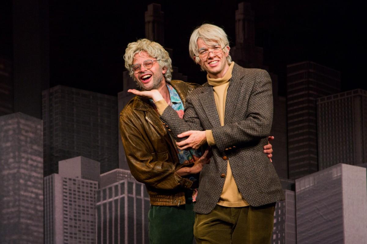 Nick Kroll and John Mulaney Photo by Christian Frarey