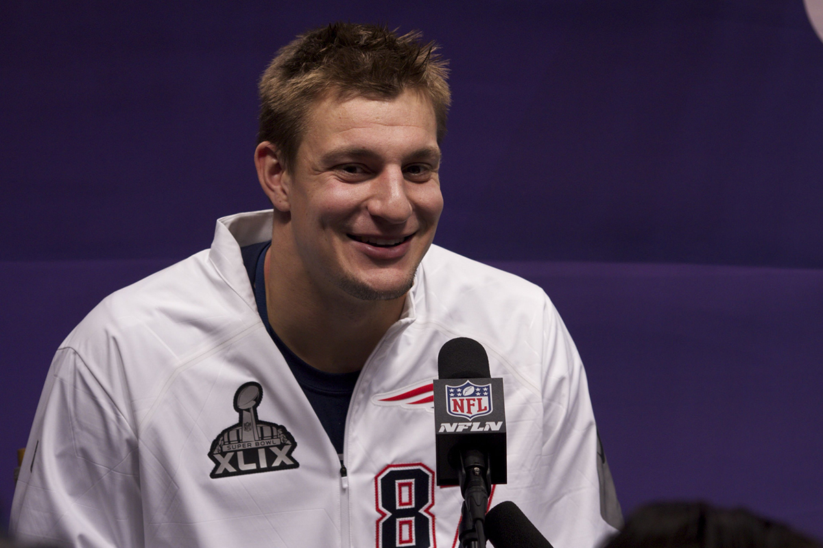 Rob Gronkowski Says the Broncos Are 'Good at Giving Low Blows'