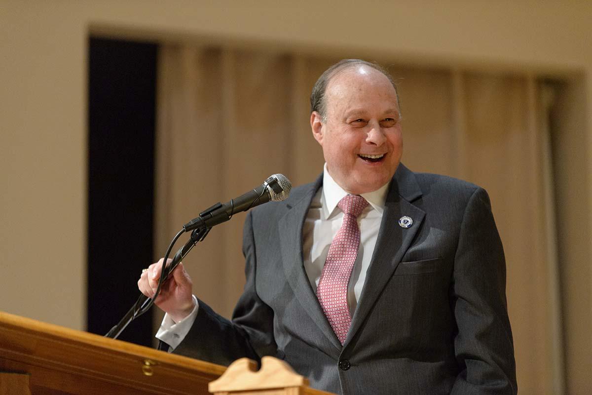Senate President Stan Rosenberg. Photo by Jones Library via Flickr/Creative Commons