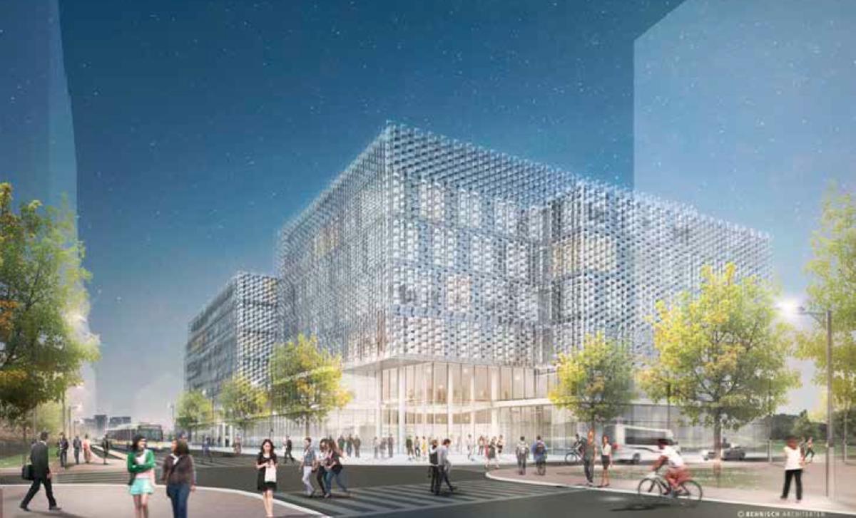 RENDERING BY BEHNISCH ARCHITEKTEN, VIA BOSTON REDEVELOPMENT AUTHORITY