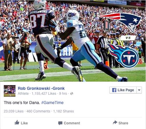 Rob Gronkowski Touchdown Catch
