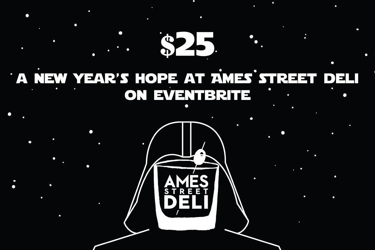 Ames Street Deli flyer
